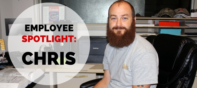Employee Spotlight: Chris