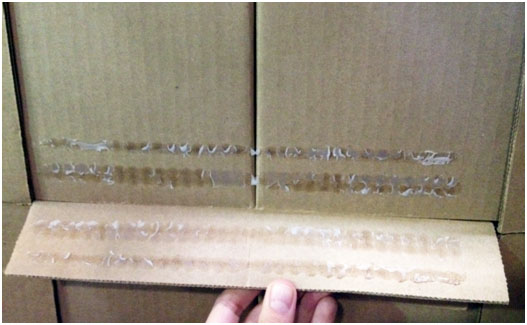 food packaging adhesive case failure
