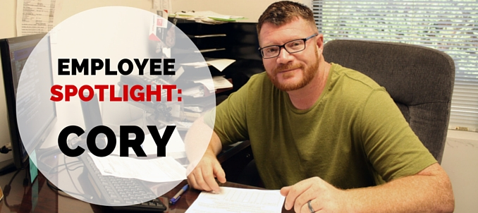 Employee Spotlight: Cory