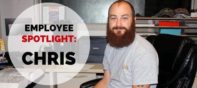 Employee Spotlight: Chris